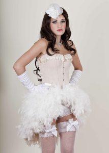 Burlesque Feather Skirt
