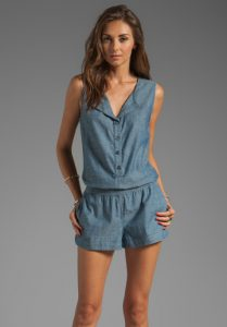 Chambray Romper Images