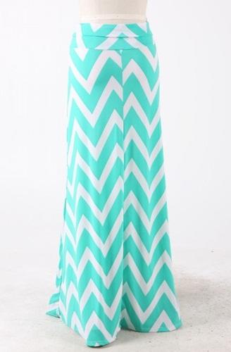 chevron skirt dressed up girl