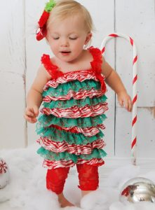 Christmas Gowns for Babies