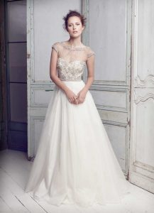 Christmas Wedding Gown