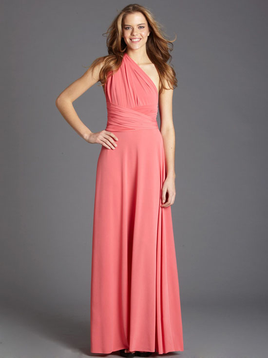 Coral Gown | Dressed Up Girl