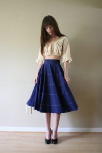 Cotton Circle Skirt