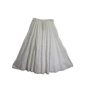 Cotton Gauze Skirt