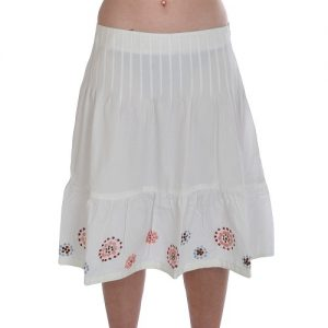 Cotton Skirts Knee Length