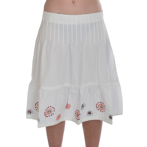 cotton skirts dressed up