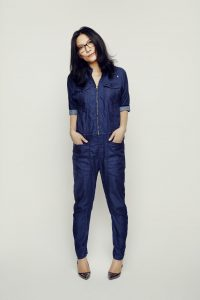 Denim One Piece Jumpsuit