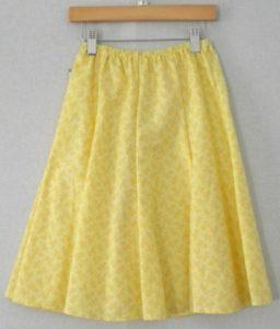 Eight Gored Skirt