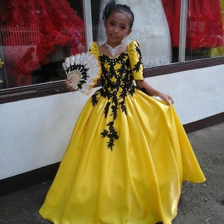 Filipiniana Gowns | Dressed Up Girl