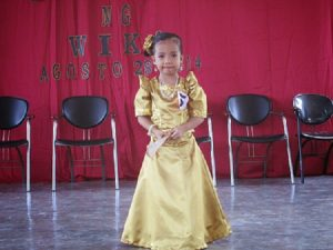 Filipiniana Gowns for Kids