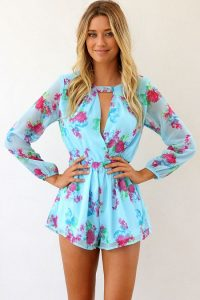 Floral Rompers for Women