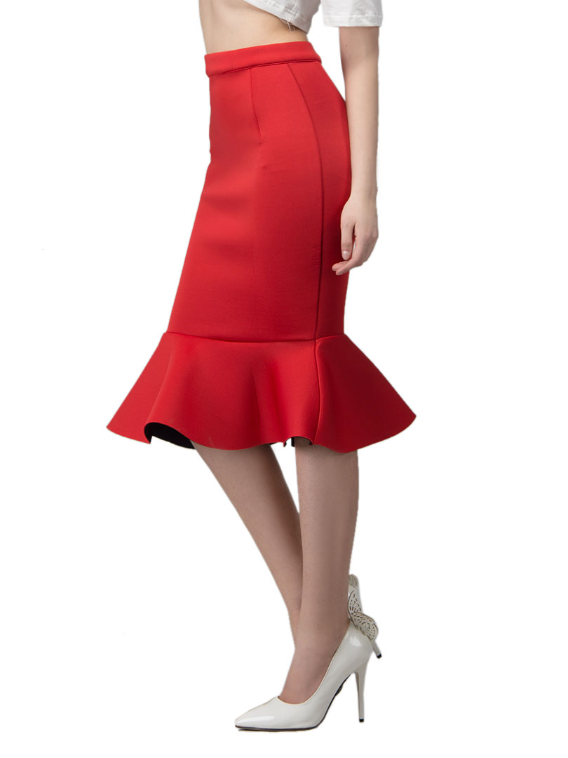 Flounce Skirt Dressed Up Girl