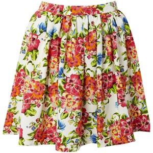 Flower Print Skirts