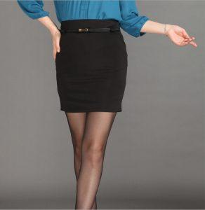 Formal Black Skirts