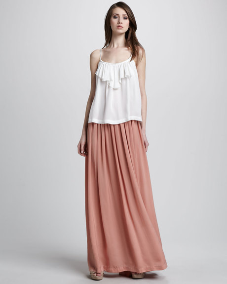 Maxi Skirt Formal Wear - Dress Ala