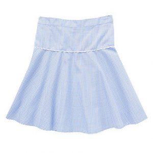 Gingham School Skirt