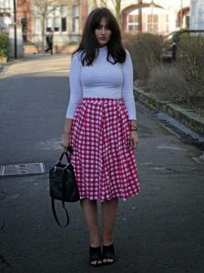 Gingham Skirts