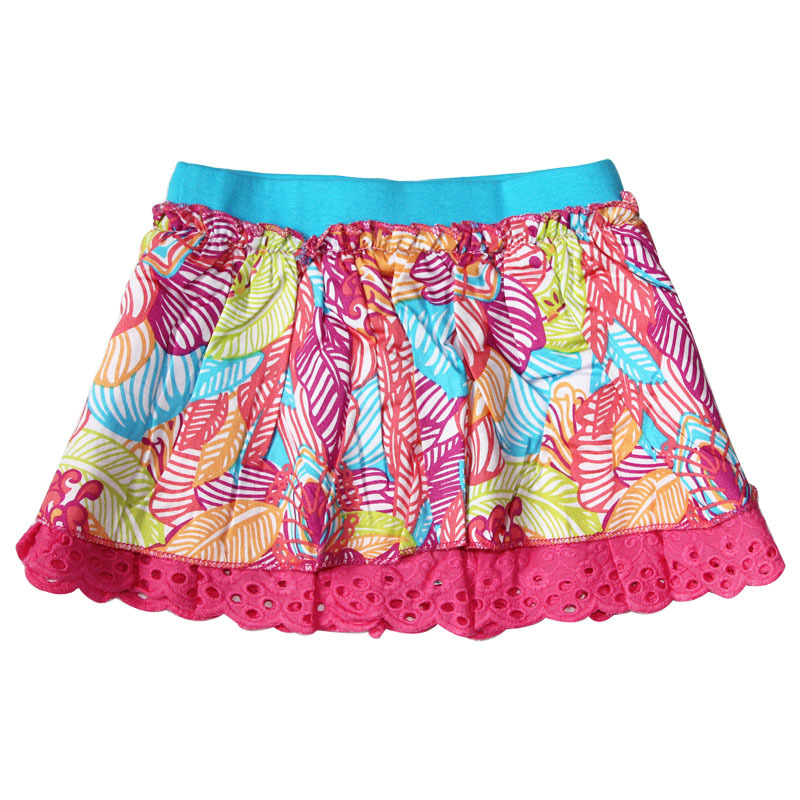 Girls' Aliza Woven Skirt A cute contender for her all-time favorite skirt, featuring dramatic fullness, must-have pockets, and a lovely braided-rope trim. Soft in cotton .