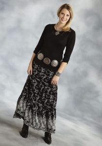 Girls Western Skirts