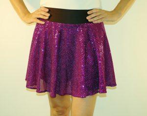 Glitter Running Skirts