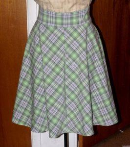 Gored Skirt Pattern