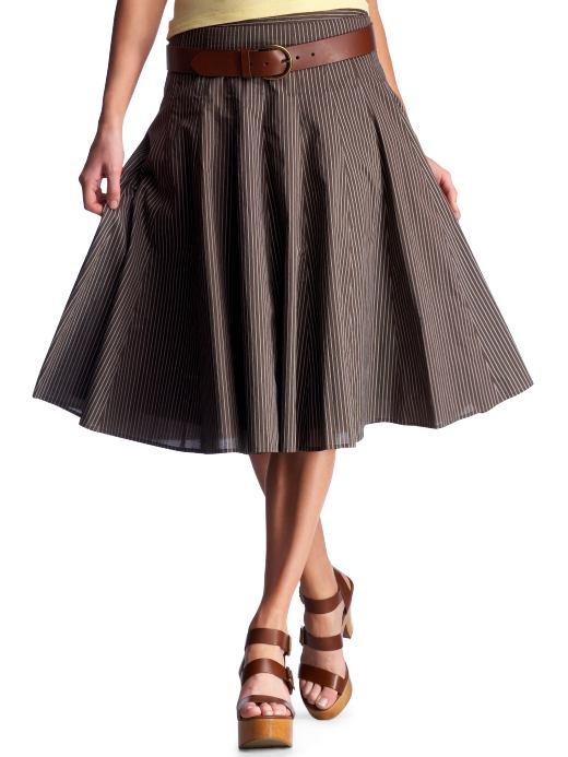 gored skirt dressed up