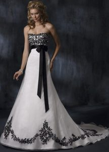 Gothic Bridal Gown