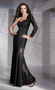 Gothic Evening Gown