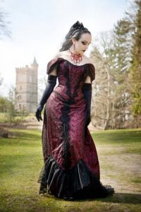 Gothic Gowns Plus Size