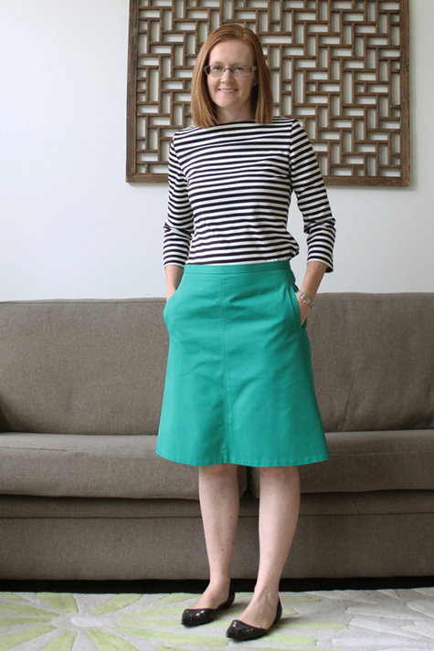 A Line Skirt | Dressed Up Girl