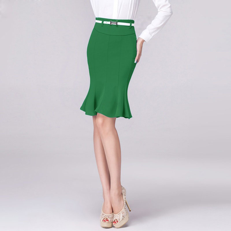 how to cut fishtail skirt
