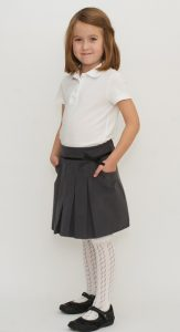 Grey Uniform Skirt
