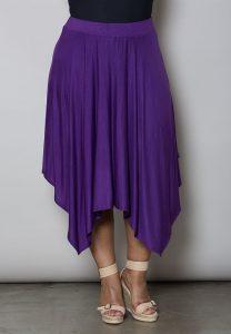 Handkerchief Skirt Plus Size