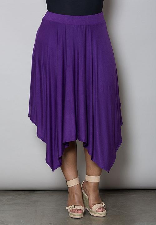 Handkerchief Skirt Dressed Up Girl