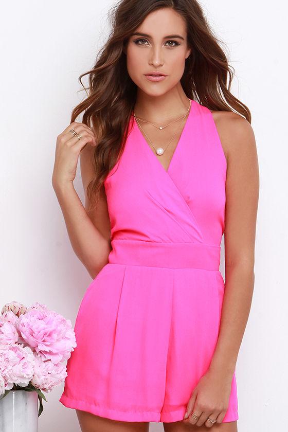 Pink Romper Dressedupgirl Com