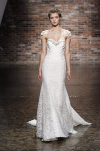 Illusion Wedding Gown