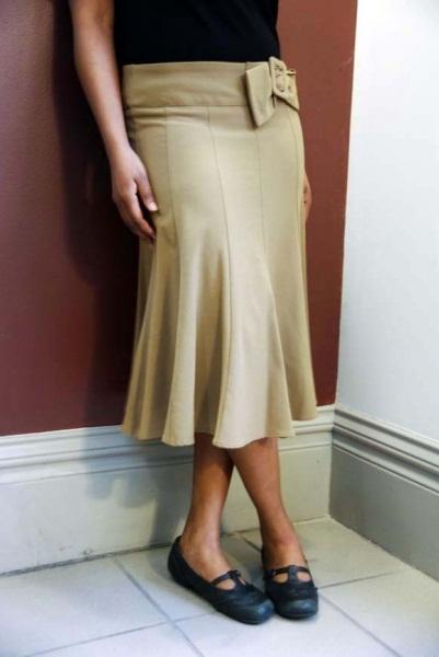 Gored Skirt | DressedUpGirl.com