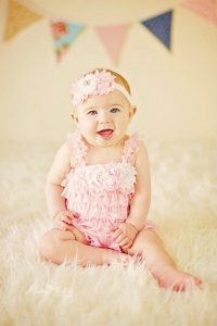 Infant Lace Petti Rompers