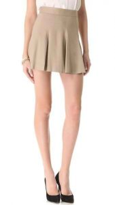 Khaki Uniform Skirts