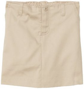 Khaki Uniform Skirts Womens