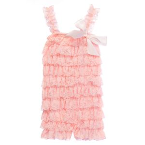 Lace Baby Rompers