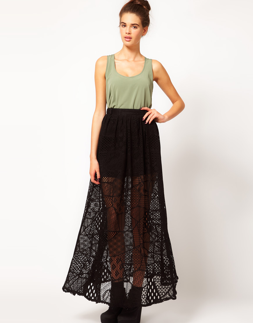 Long Lace Skirt | Dressed Up Girl