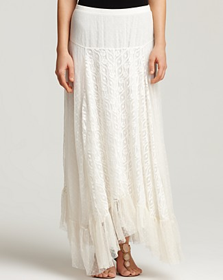 Lace Long Skirt - Dress Ala