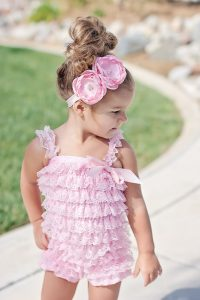 Lace Romper for Baby