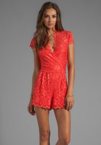 Lace Romper for Women