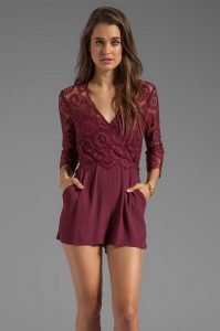 Lace Rompers for Women