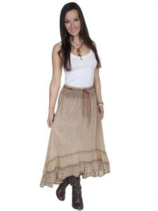 Ladies Western Skirts