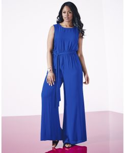 Ladies Wide Leg Jumpsuits