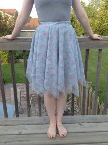 Layered Handkerchief Skirt