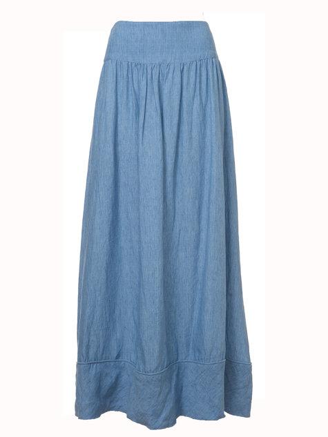 Linen Skirt Dressed Up Girl